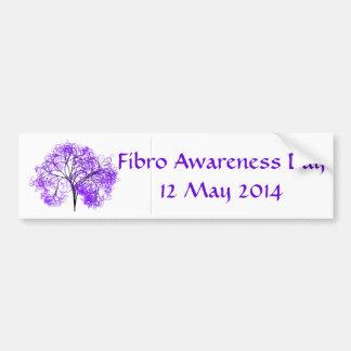 Fibro Awareness Day 2014 Car Bumper Sticker