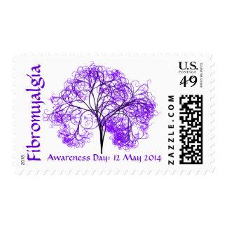 Fibro Awareness Day 2014 Postage Stamps