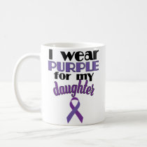 Fibro Awareness Month Support Daughter Coffee Mug