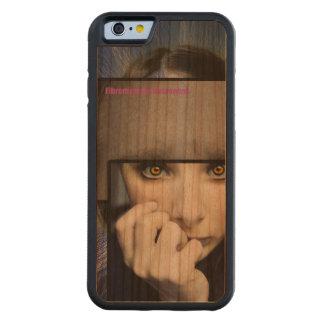 Fibro Brain Carved® Cherry iPhone 6 Bumper Case