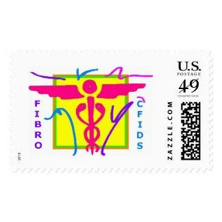 Fibro & CFIDS Awareness Stamp