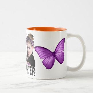 Fibro Fighter Two-Tone Coffee Mug