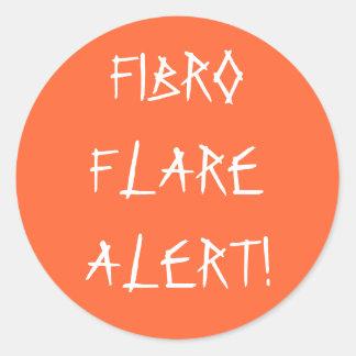 FIBRO FLARE ALERT! - stickers
