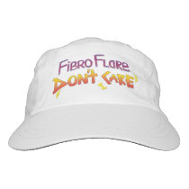 Fibro Flare Don't Care Hat