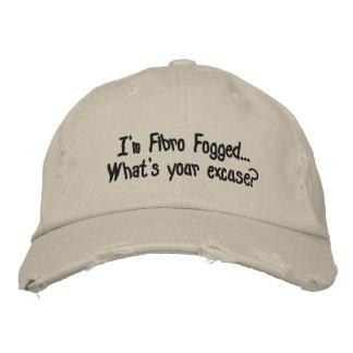 Fibro Fog  - Embroidered cap Embroidered Baseball Caps