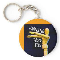 fibro fog keychain