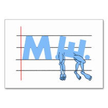 Fibro M.E. CFS Text Art Card