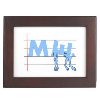 Fibro M.E. CFS Text Art Memory Box
