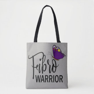 Fibro Warrior Butterfly Tote Bag