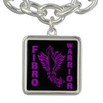FIBRO WARRIOR phoenix Charm Bracelet