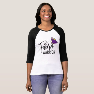 Fibro Warrior Purple Butterfly Shirt