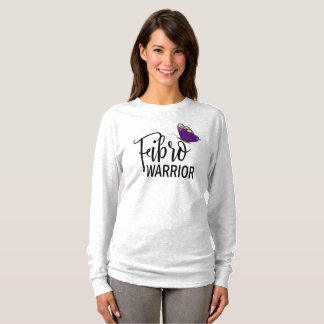 Fibro Warrior Shirt For Women Long Sleeve