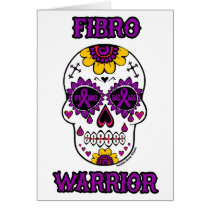FIBRO WARRIOR  sugar skull