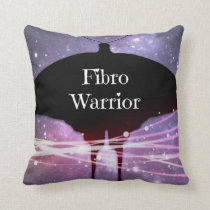 Fibro Warrior Throw PIllow
