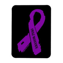 Fibro Warrior torn ribbon Magnet