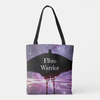 Fibro Warrior Tote Bag With Black Handles