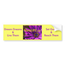 fibroLIFE Bumper Sticker