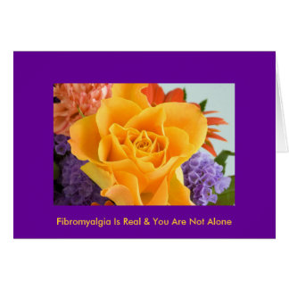 "fibroLIFE Greeting Card: ""Who knew..."""