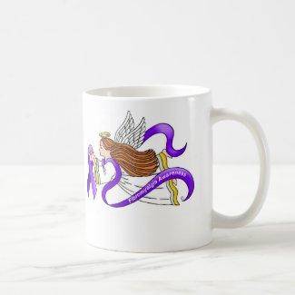 Fibromyalgia Angel Classic White Coffee Mug