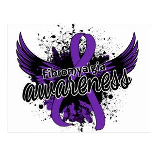 Fibromyalgia Awareness 16 Postcard
