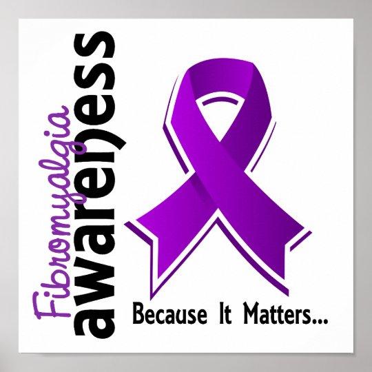 Fibromyalgia Awareness 5 Poster