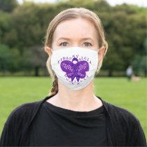 Fibromyalgia Awareness Adult Cloth Face Mask