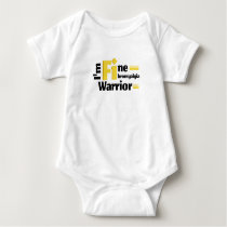 Fibromyalgia Awareness Baby Bodysuit