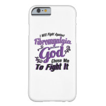 Fibromyalgia Awareness Barely There iPhone 6 Case