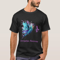 fibromyalgia awareness bird cancer T-Shirt