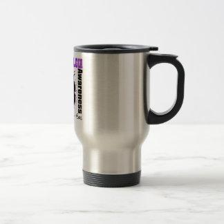 Fibromyalgia Awareness Butterfly Coffee Mugs