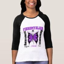 Fibromyalgia Awareness Butterfly Tshirts