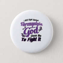 Fibromyalgia Awareness Button