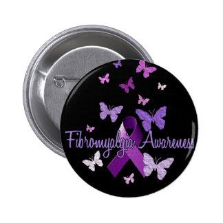 Fibromyalgia Awareness Button