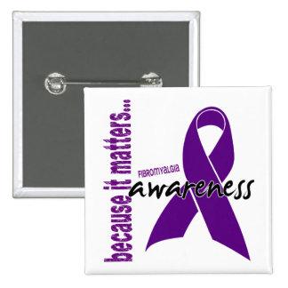 Fibromyalgia Awareness Pin