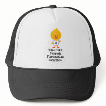 Fibromyalgia Awareness Chick Cap