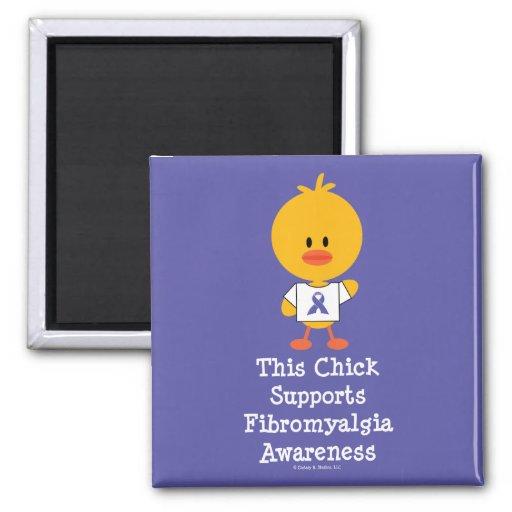 Fibromyalgia Awareness Chick Magnet