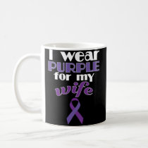 Fibromyalgia Awareness Coffee Mug for Husband Wife