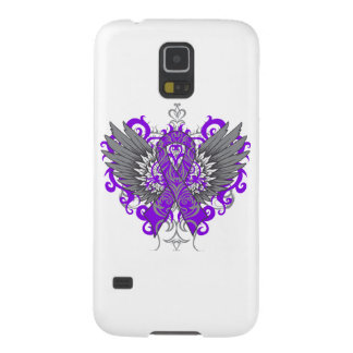 Fibromyalgia Awareness Cool Wings Cases For Galaxy S5