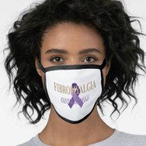 Fibromyalgia Awareness Cotton Face Mask