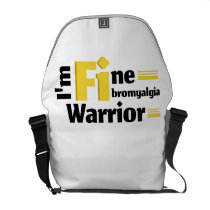 Fibromyalgia Awareness Courier Bag