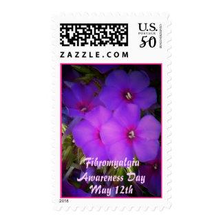 Fibromyalgia Awareness Day-Floral-Stamp Postage