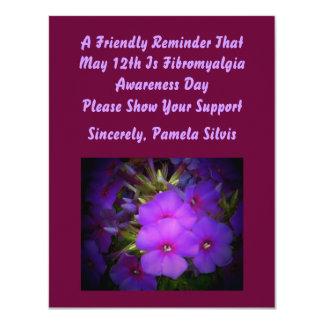 Fibromyalgia Awareness Day Invite
