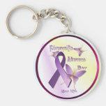 Fibromyalgia Awareness Day Keychain