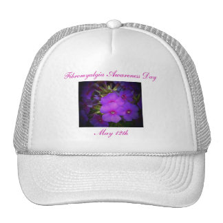 Fibromyalgia Awareness Day,May 12th-Hat Trucker Hat