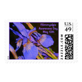 Fibromyalgia, Awareness Day, May 12th-Stamps Postage Stamp