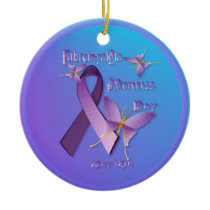 Fibromyalgia Awareness Day Ornament