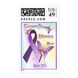 Fibromyalgia Awareness Day  Postage