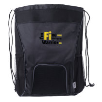 Fibromyalgia Awareness Drawstring Backpack