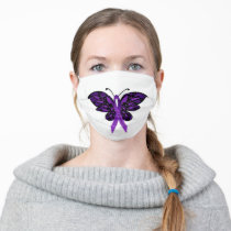 Fibromyalgia Awareness Face Mask