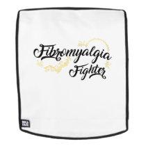 Fibromyalgia Awareness Fighter Ribbon Backpack